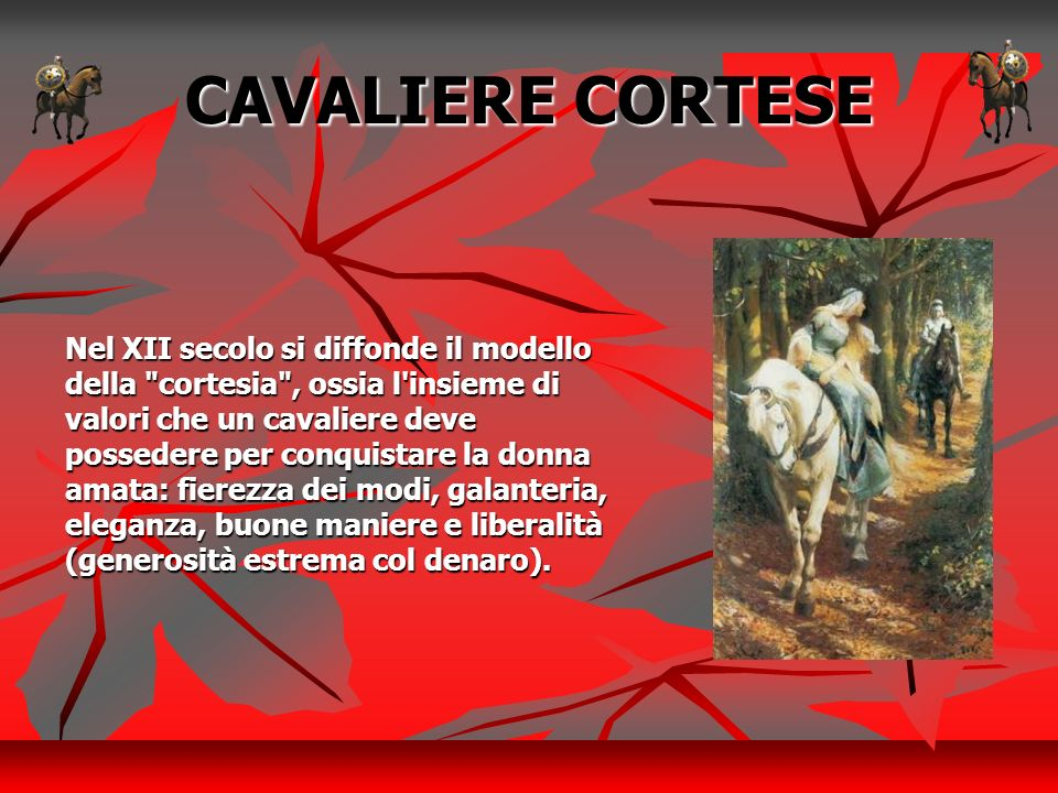 CAVALIERE CORTESE