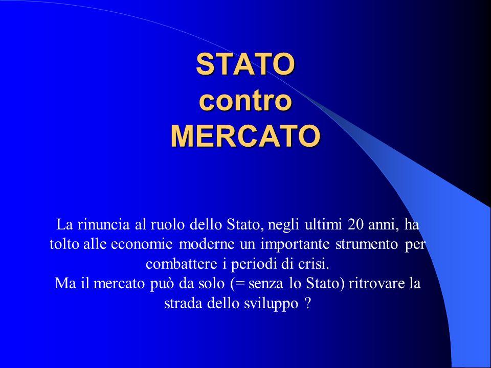 STATO contro MERCATO