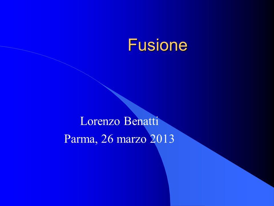 Lorenzo Benatti Parma, 26 marzo 2013