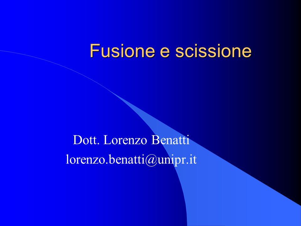 Dott. Lorenzo Benatti lorenzo.benatti@unipr.it