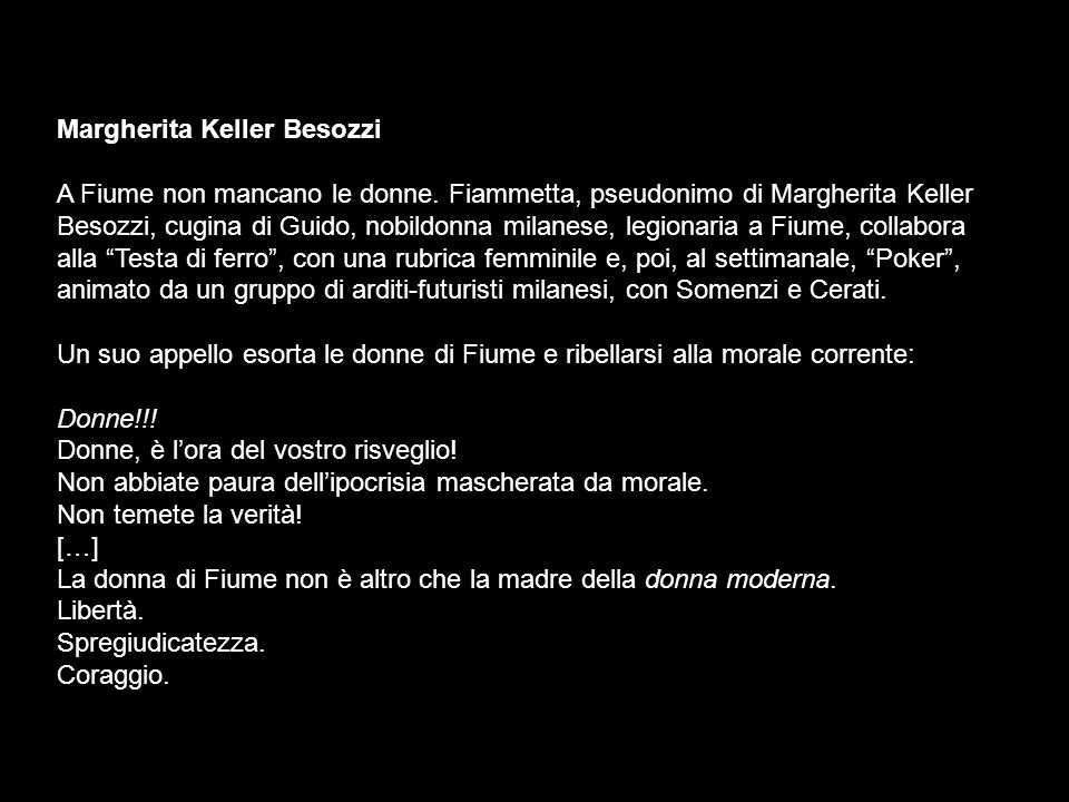 Margherita Keller Besozzi
