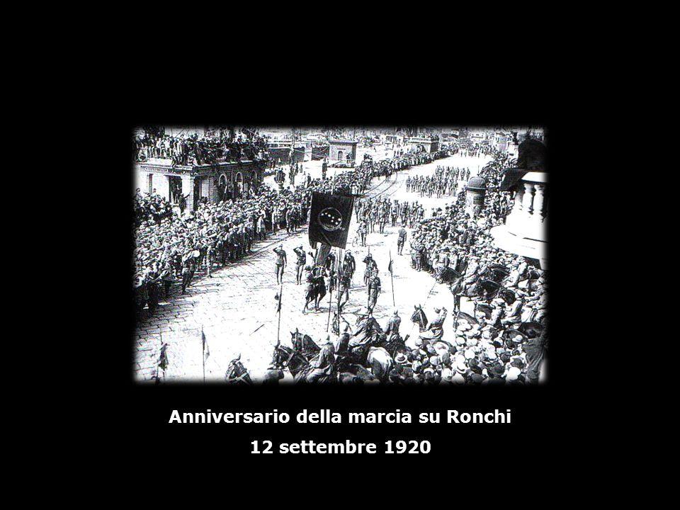 Anniversario della marcia su Ronchi
