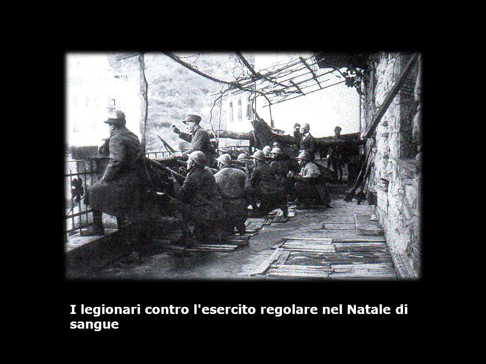 I legionari contro l esercito regolare nel Natale di sangue
