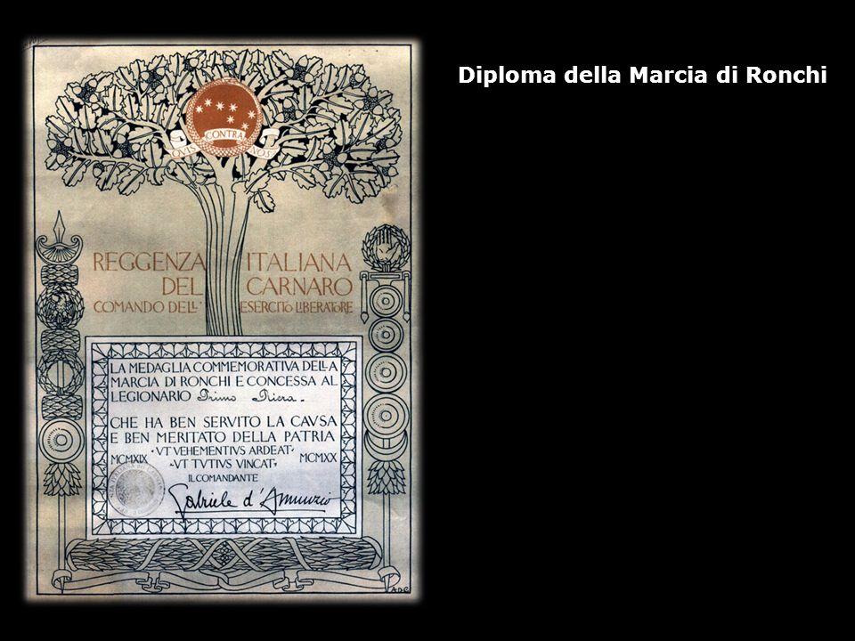 Diploma della Marcia di Ronchi