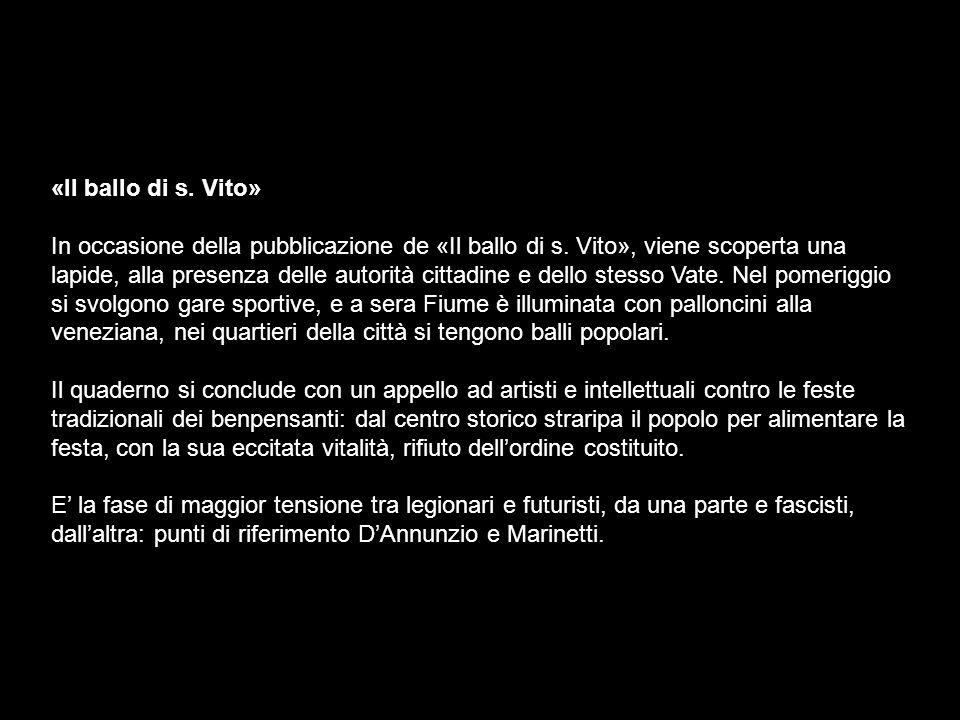 «Il ballo di s. Vito»
