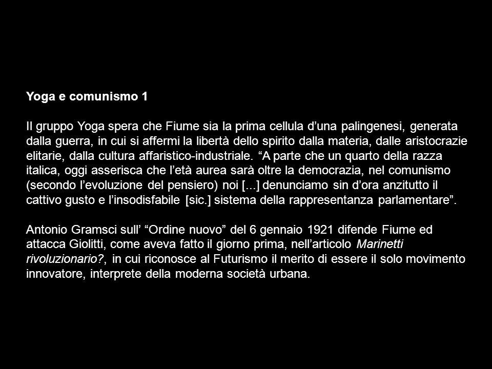 Yoga e comunismo 1