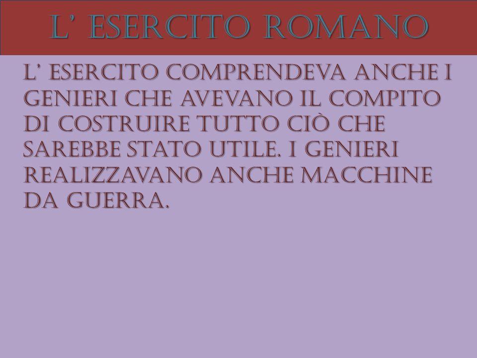 L' esercito romano