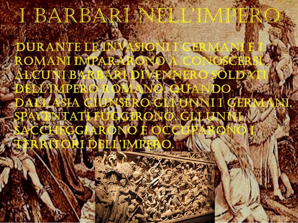 I barbari nell'Impero