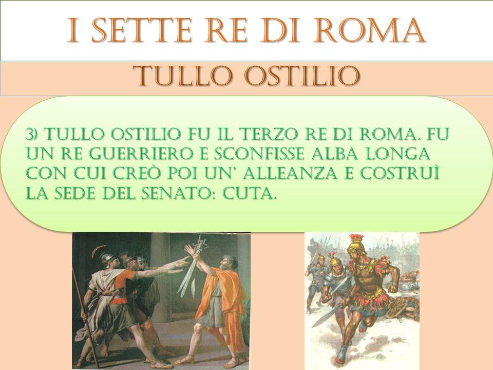 I sette re di roma Tullo ostilio