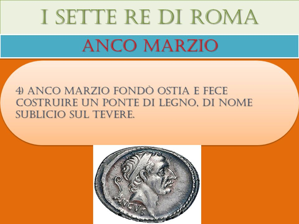 I sette re di roma Anco marzio