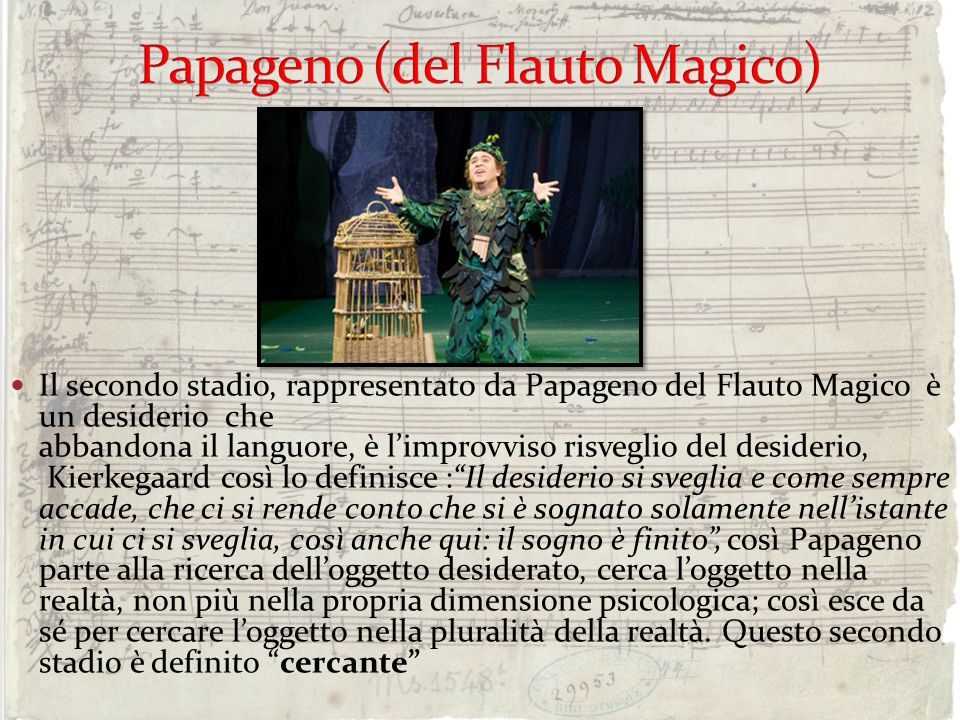 Papageno (del Flauto Magico)
