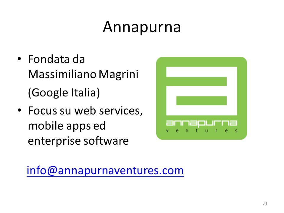 Annapurna Fondata da Massimiliano Magrini (Google Italia)
