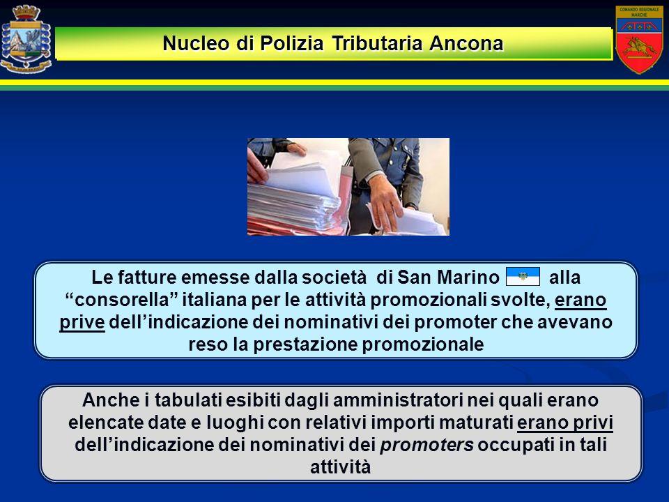 Nucleo di Polizia Tributaria Ancona