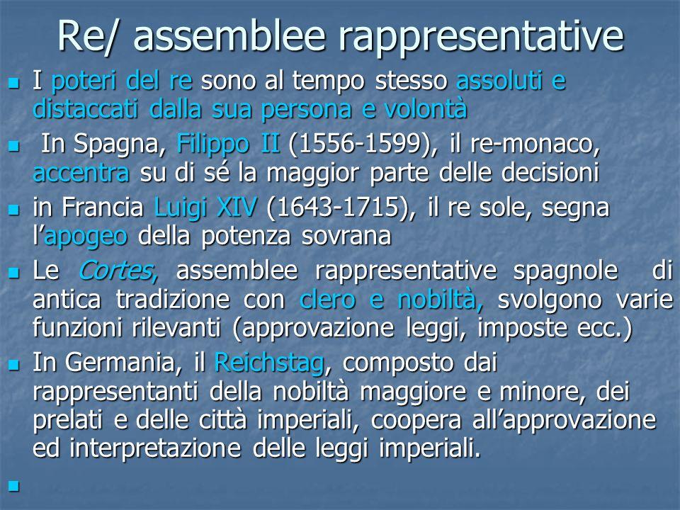 Re/ assemblee rappresentative