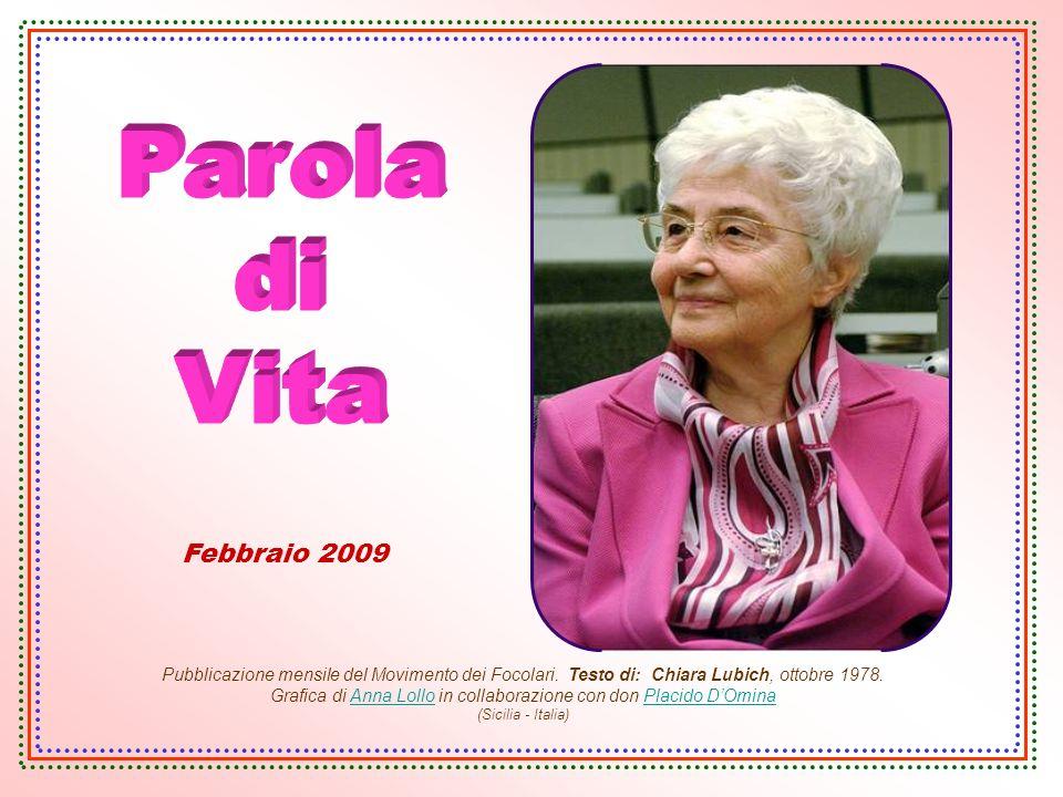 Parola di Vita Febbraio 2009