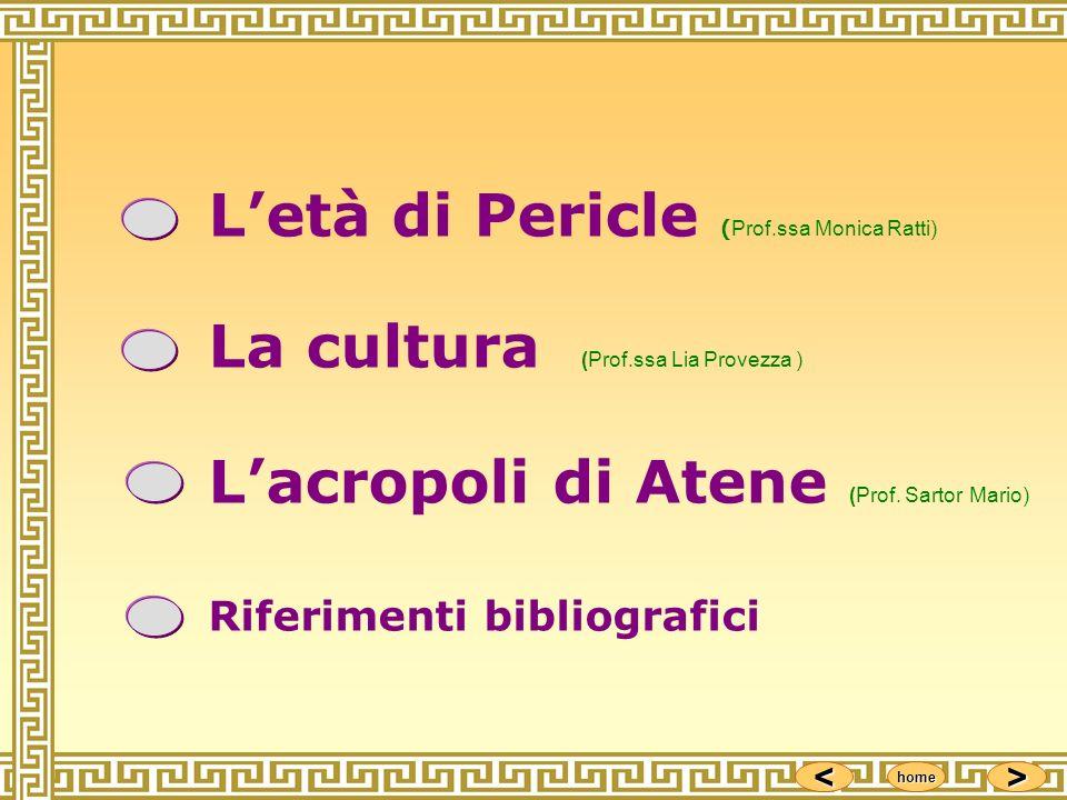 L'età di Pericle (Prof.ssa Monica Ratti)