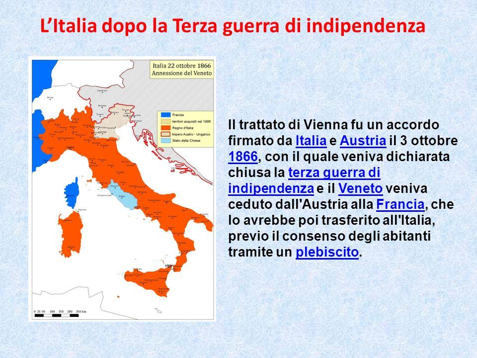 L'Italia dopo la Terza guerra di indipendenza