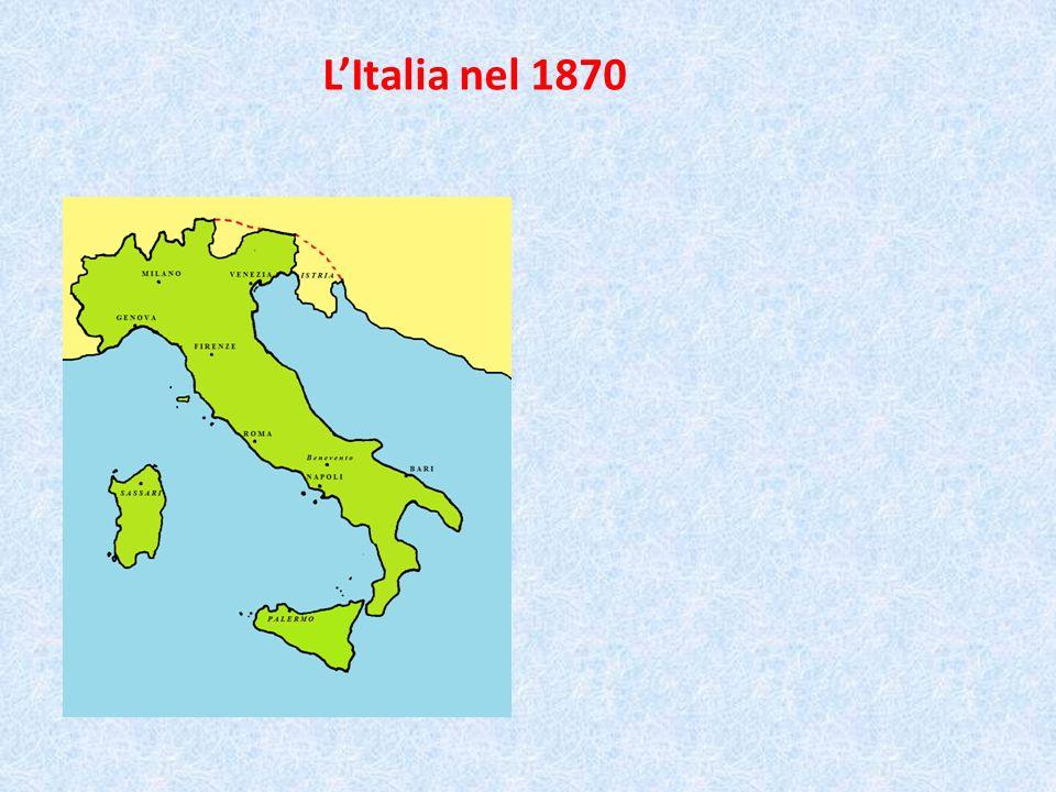 L'Italia nel 1870
