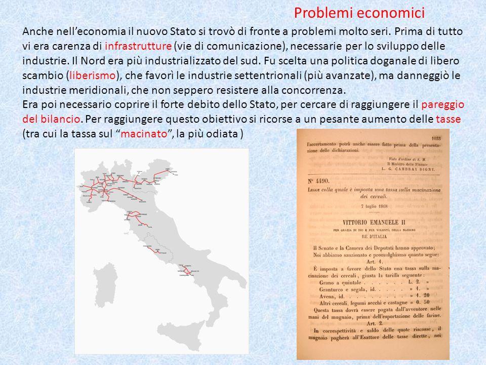 Problemi economici