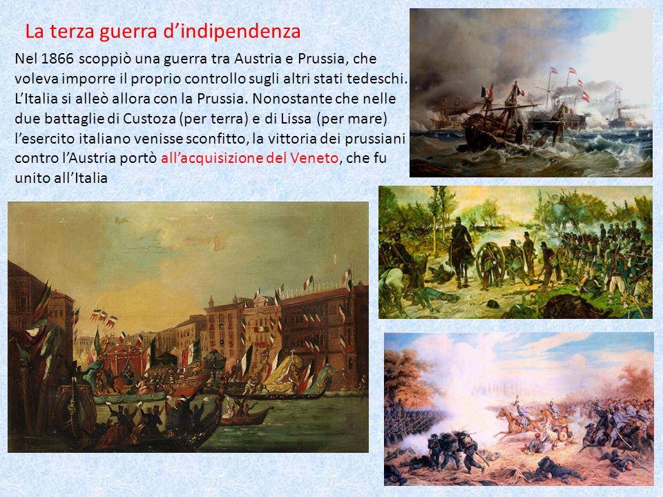 La terza guerra d'indipendenza