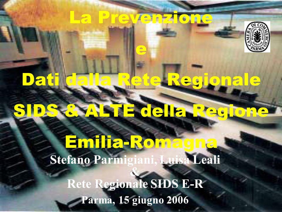 Stefano Parmigiani, Luisa Leali Rete Regionale SIDS E-R