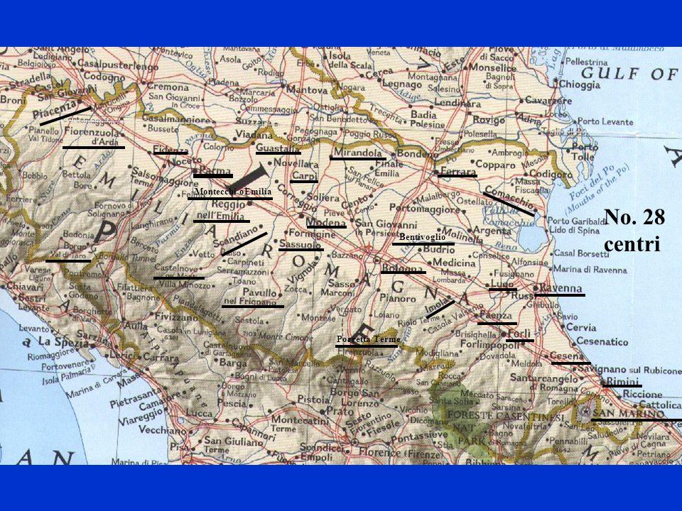 Montecchi oEmilia No. 28 centri Bentivoglio Porretta Terme