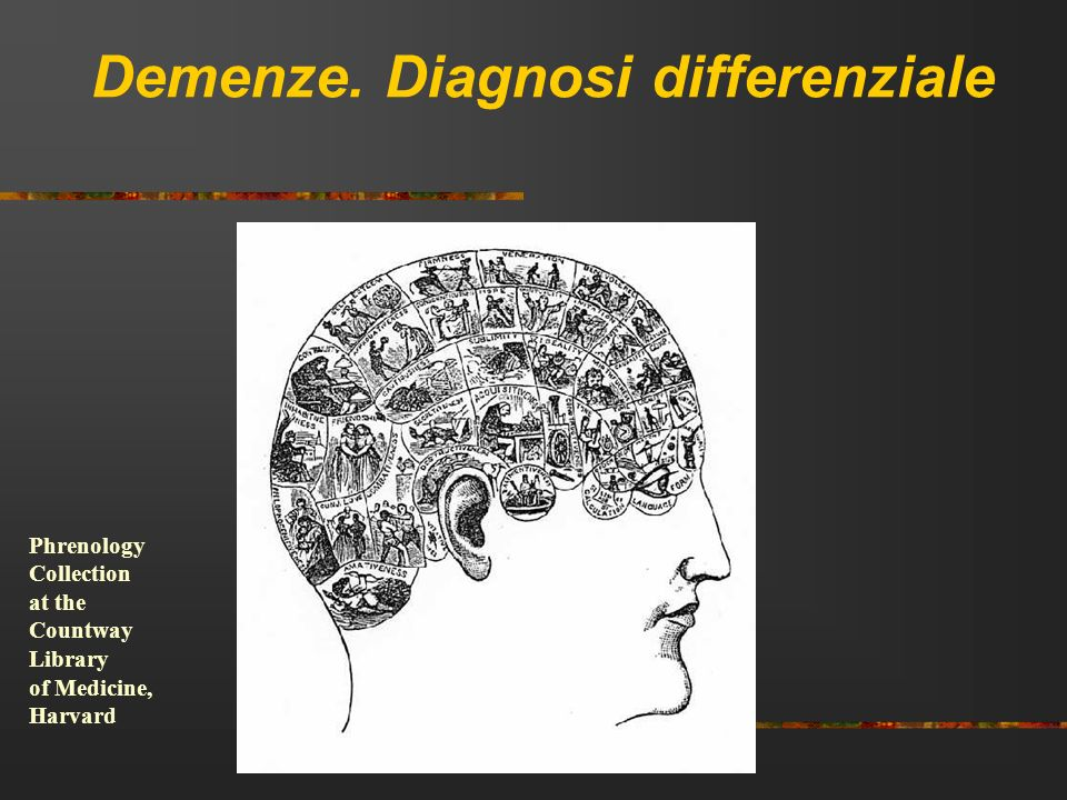 Demenze. Diagnosi differenziale