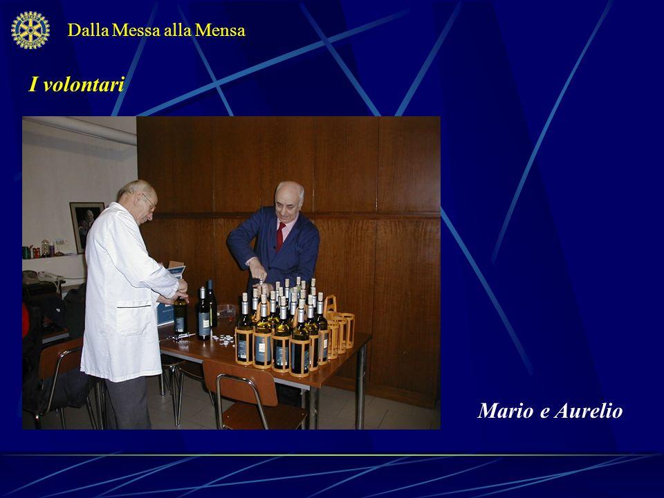 Dalla Messa alla Mensa I volontari Mario e Aurelio