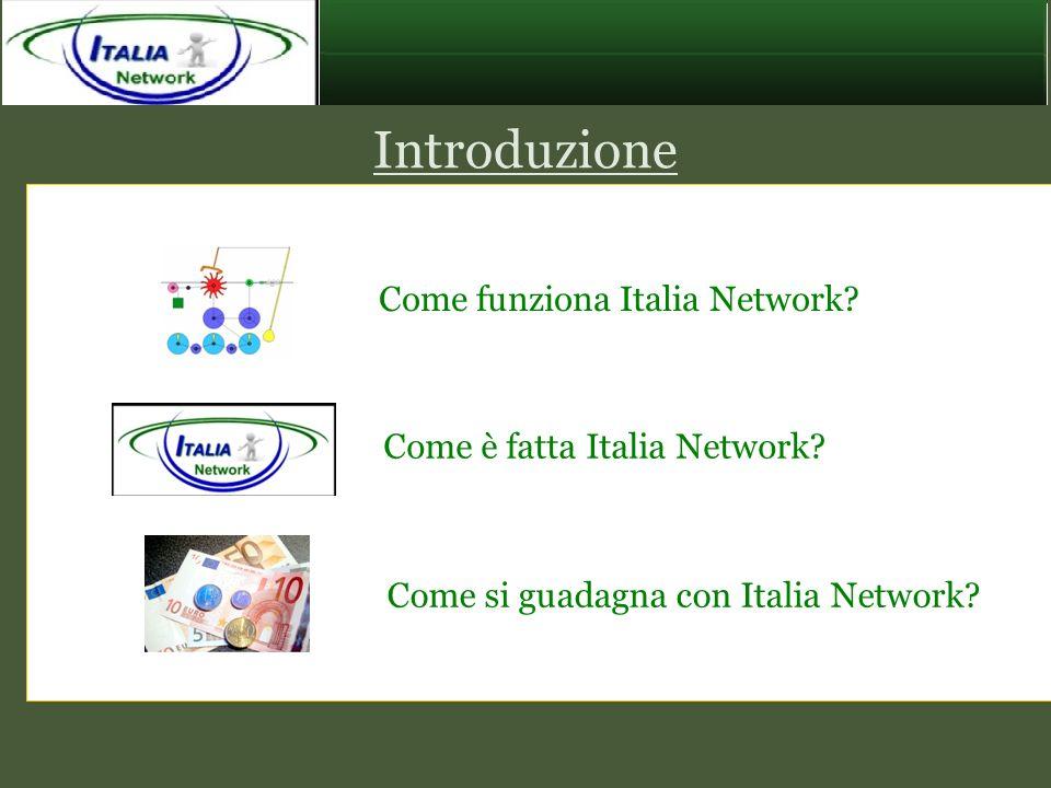 Introduzione Come funziona Italia Network