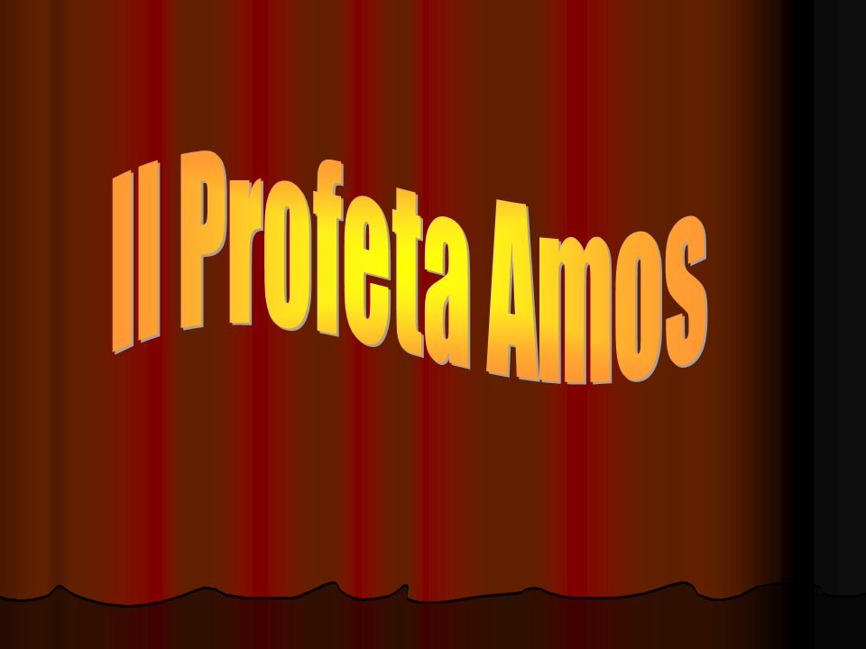 Il Profeta Amos