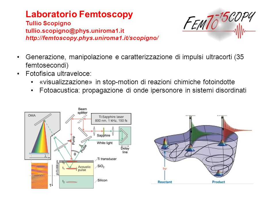 Laboratorio Femtoscopy