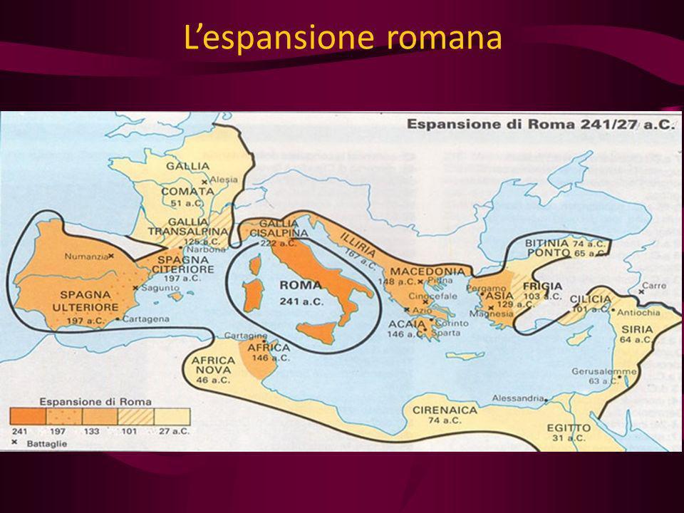 L'espansione romana