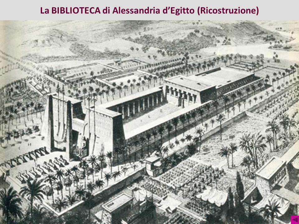 La BIBLIOTECA di Alessandria d'Egitto (Ricostruzione)