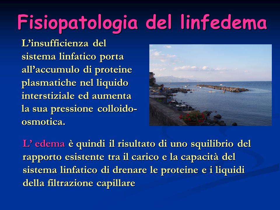 Fisiopatologia del linfedema