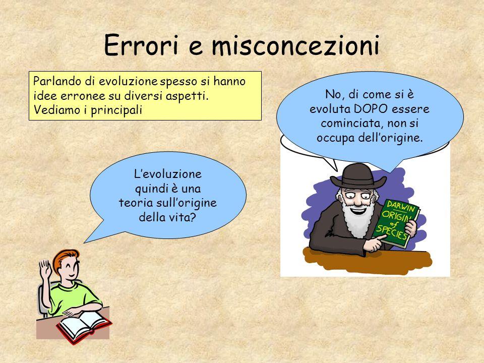 Errori e misconcezioni