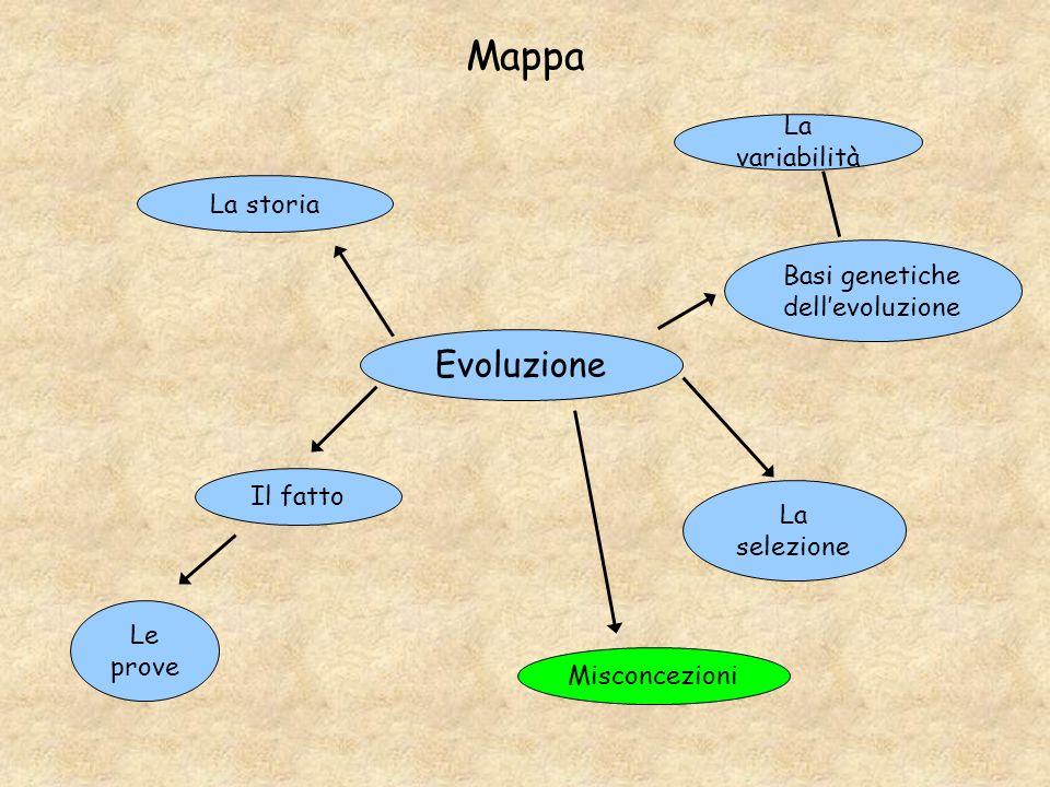 Basi genetiche dell'evoluzione