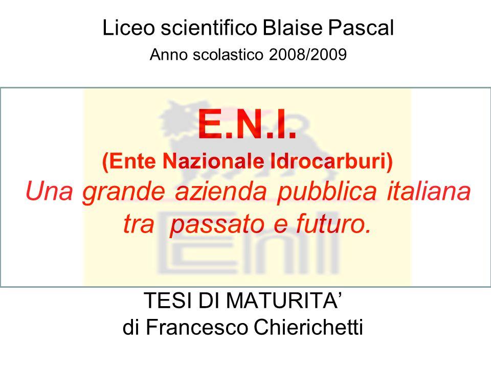 TESI DI MATURITA' di Francesco Chierichetti