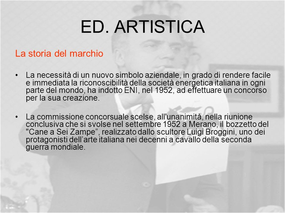 ED. ARTISTICA La storia del marchio
