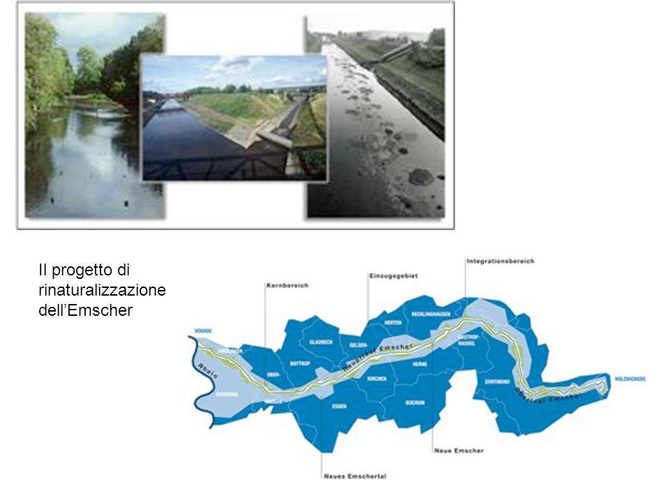 Il progetto di rinaturalizzazione dell'Emscher