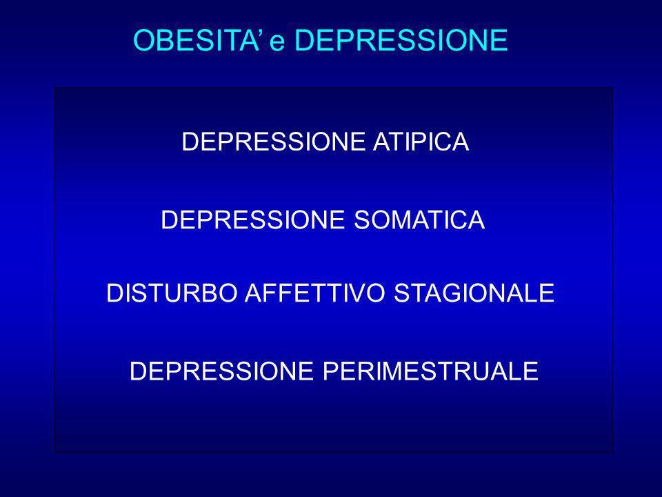 OBESITA' e DEPRESSIONE