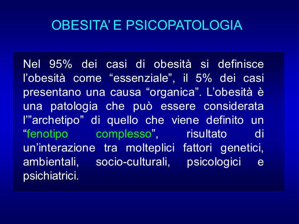 OBESITA' E PSICOPATOLOGIA