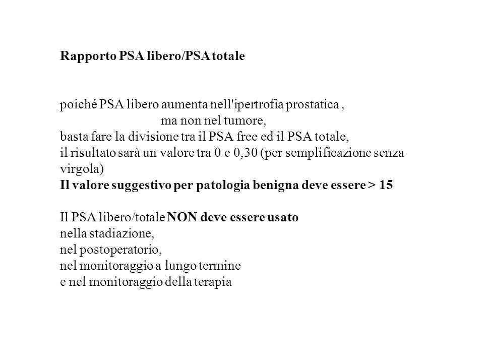 Rapporto PSA libero/PSA totale