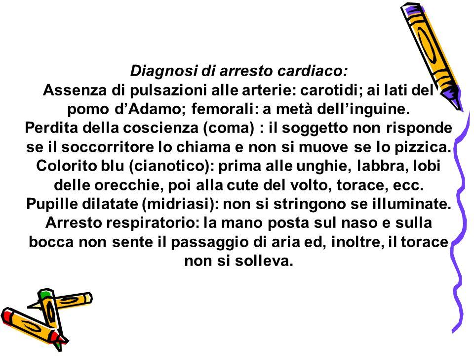 Diagnosi di arresto cardiaco: