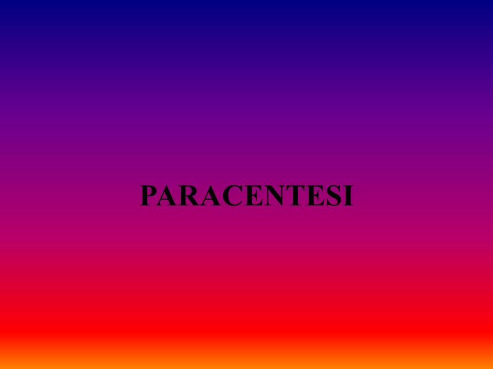 PARACENTESI