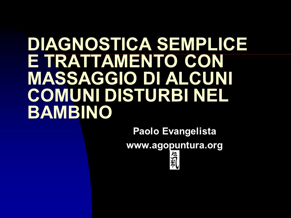 Paolo Evangelista www.agopuntura.org