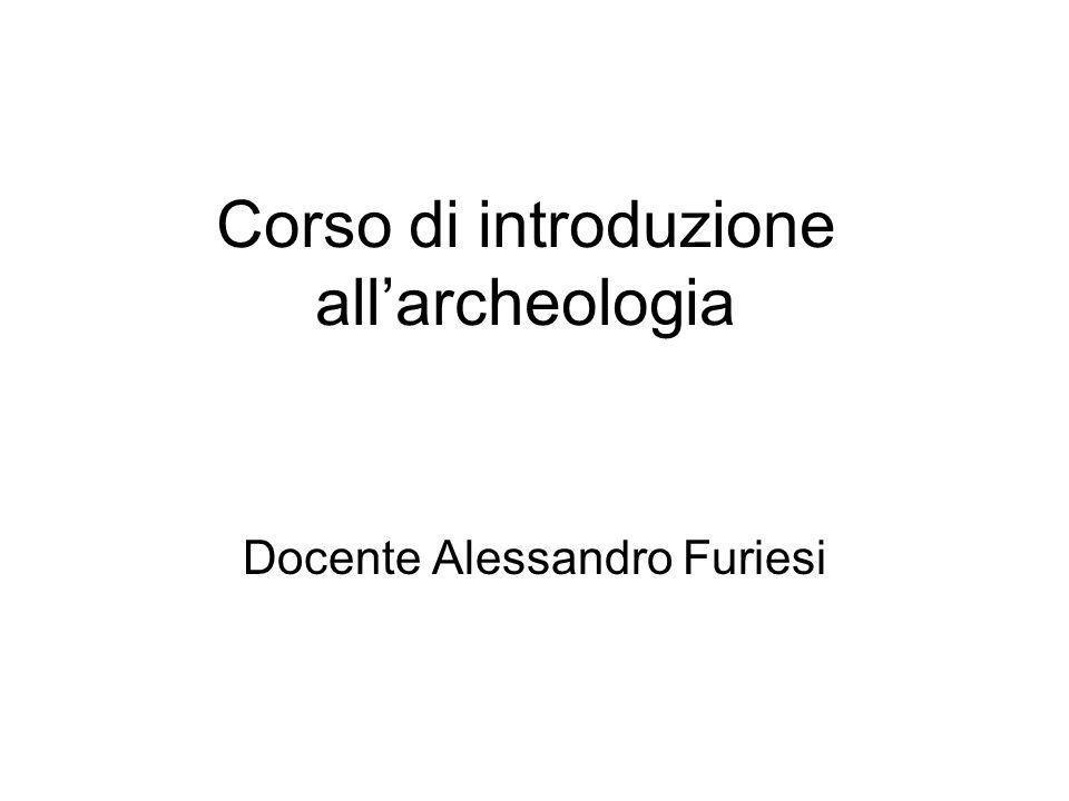 Corso di introduzione all'archeologia
