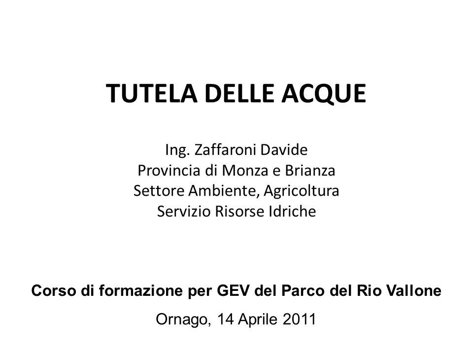 Corso di formazione per GEV del Parco del Rio Vallone