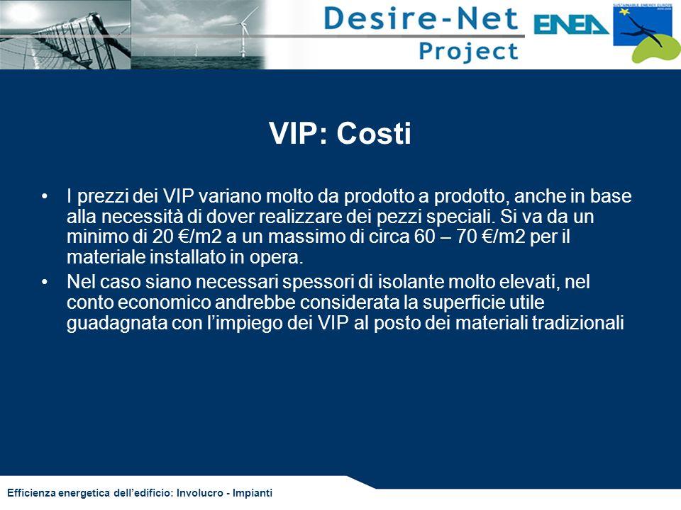 VIP: Costi