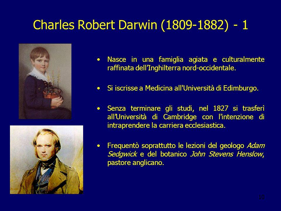 Charles Robert Darwin (1809-1882) - 1