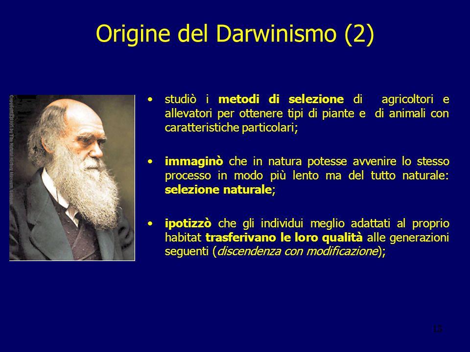 Origine del Darwinismo (2)
